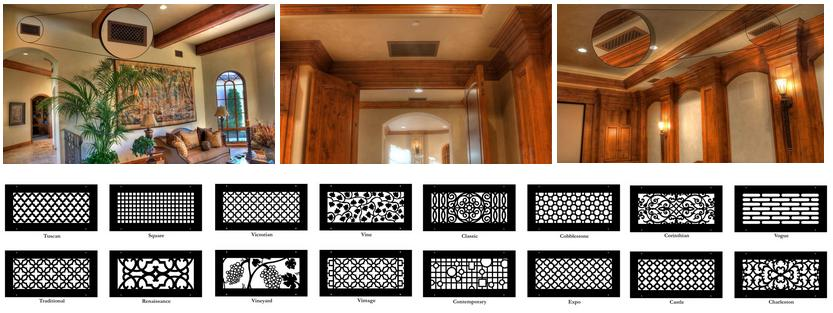 Decorative Wall Vent Covers diy decorative air return cover tutorial Decorative Air Ducts Vents Covers Utah