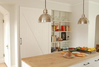 Decorative Woodwork at Home Barn Doors Decorative Pantry Door Rebekah Zaveloff Remodelista