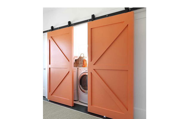Barn Doors For Your Laundry Room